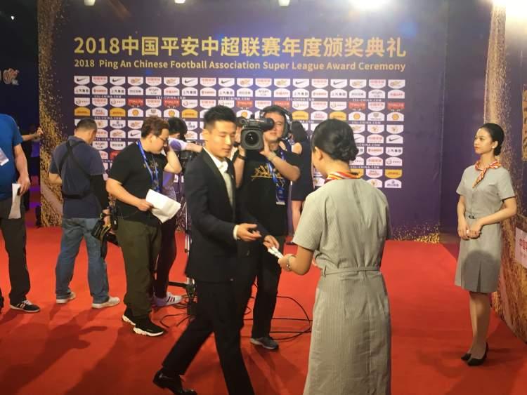 2018中超颁奖典礼,武磊包揽最佳球员和最佳射手,黄紫昌爆冷拿