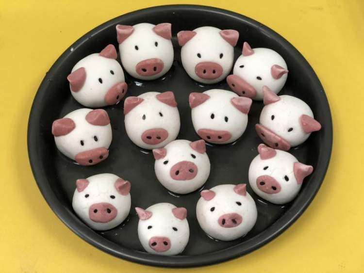 猪猪汤圆有新意,社区团圆饭大升级,天目西er这样过元宵节