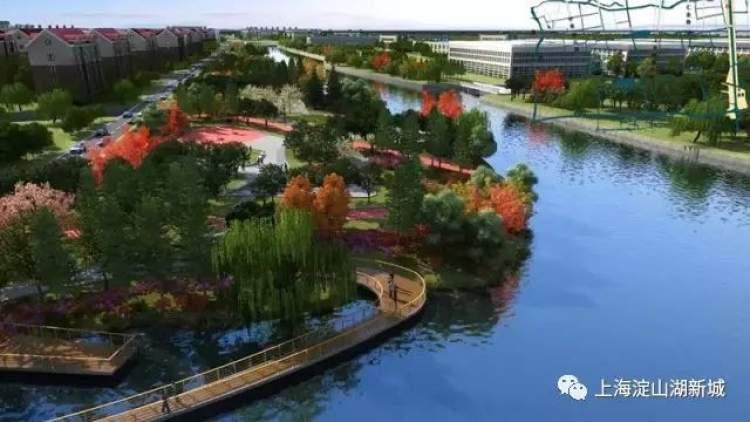 周到上海 民生 城事 正文  1,青浦梦蝶岛区域——打造青浦水城文化